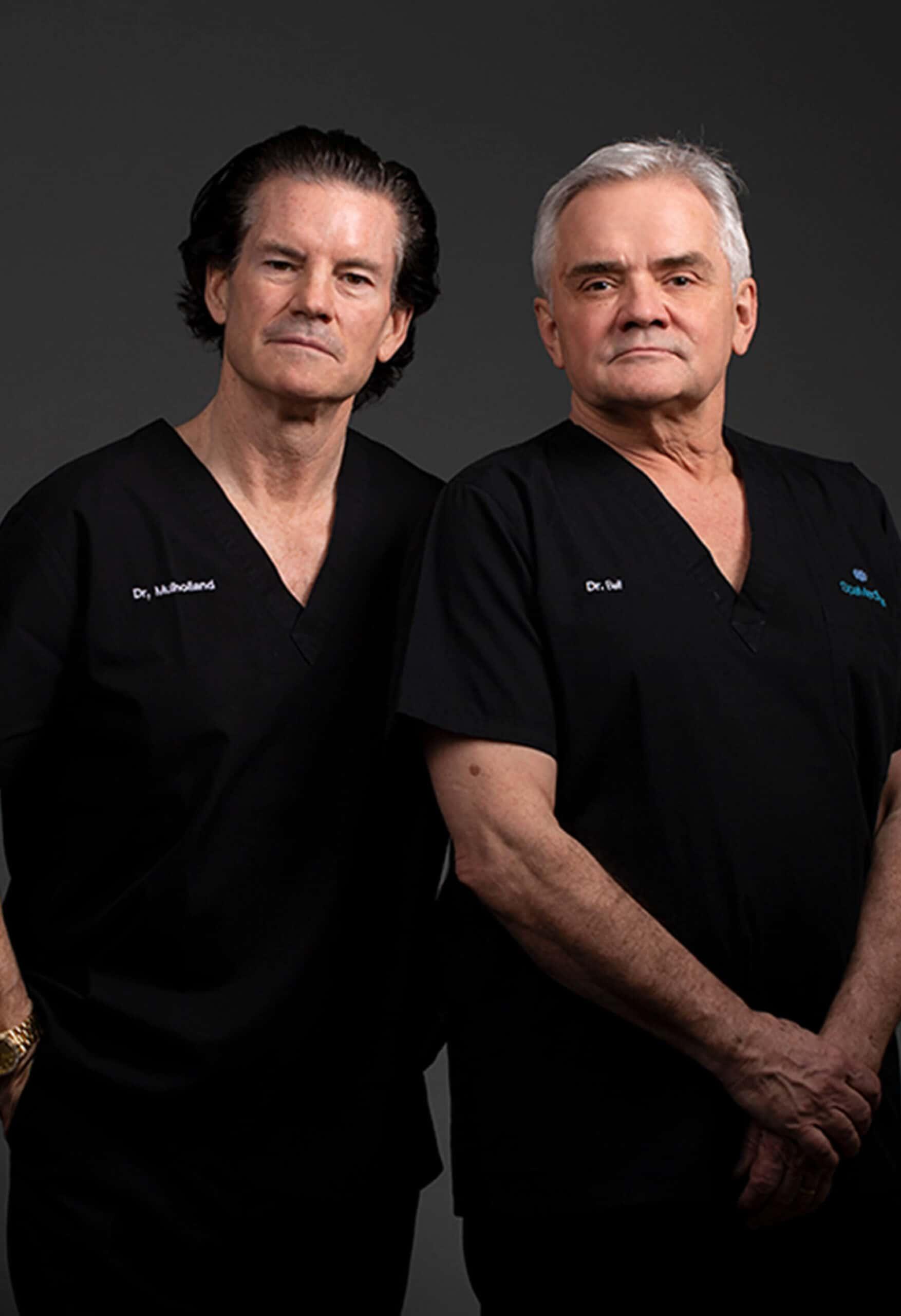 Homepage - Dr. Mulholland & Dr. Bell - Experts Banner - Mobile